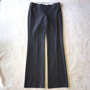 Ann Taylor LOFT Gray Dress Pants Size 4 Tall